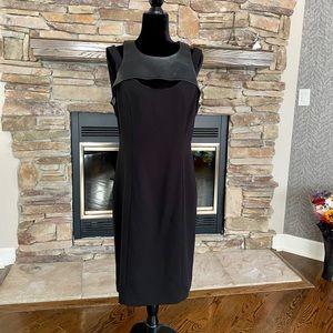 Classic Black Midi Dress